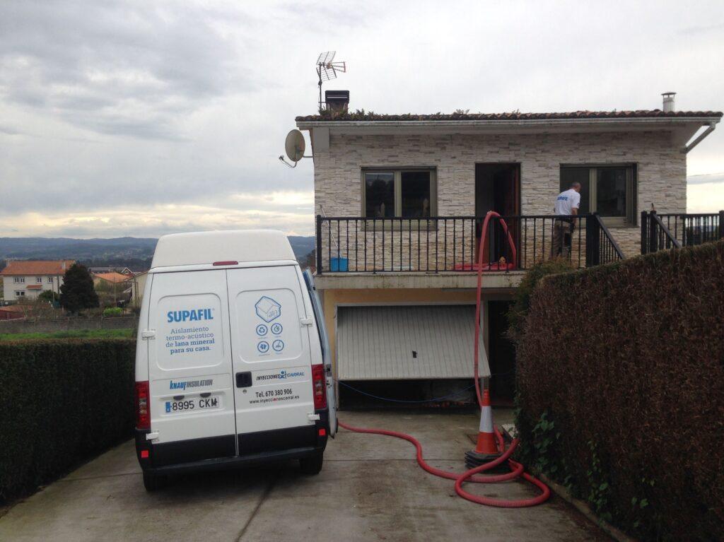 Aislamiento de techos y paredes Coruña